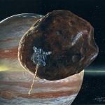 Рисунок спутника Амальтеи
