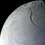 Фотография спутника Энцелад