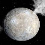 Астероид Церера из пояса астероидов