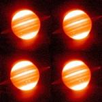 Кольцо Юпитера инфрокрасная съемка