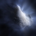 Комета в небе
