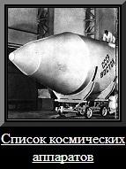 Список космических аппаратов