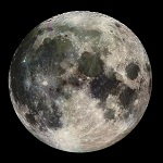 Рисунок Луны