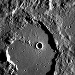 Фото рельефа Меркурия
