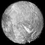 Фото спутника Миранда