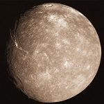 Фото спутника Титания