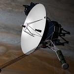 Вояджер-2 на фоне Юпитера